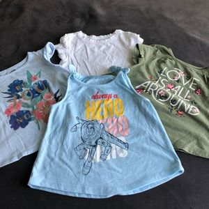 BUNDLE Of FOUR BABY TOPS